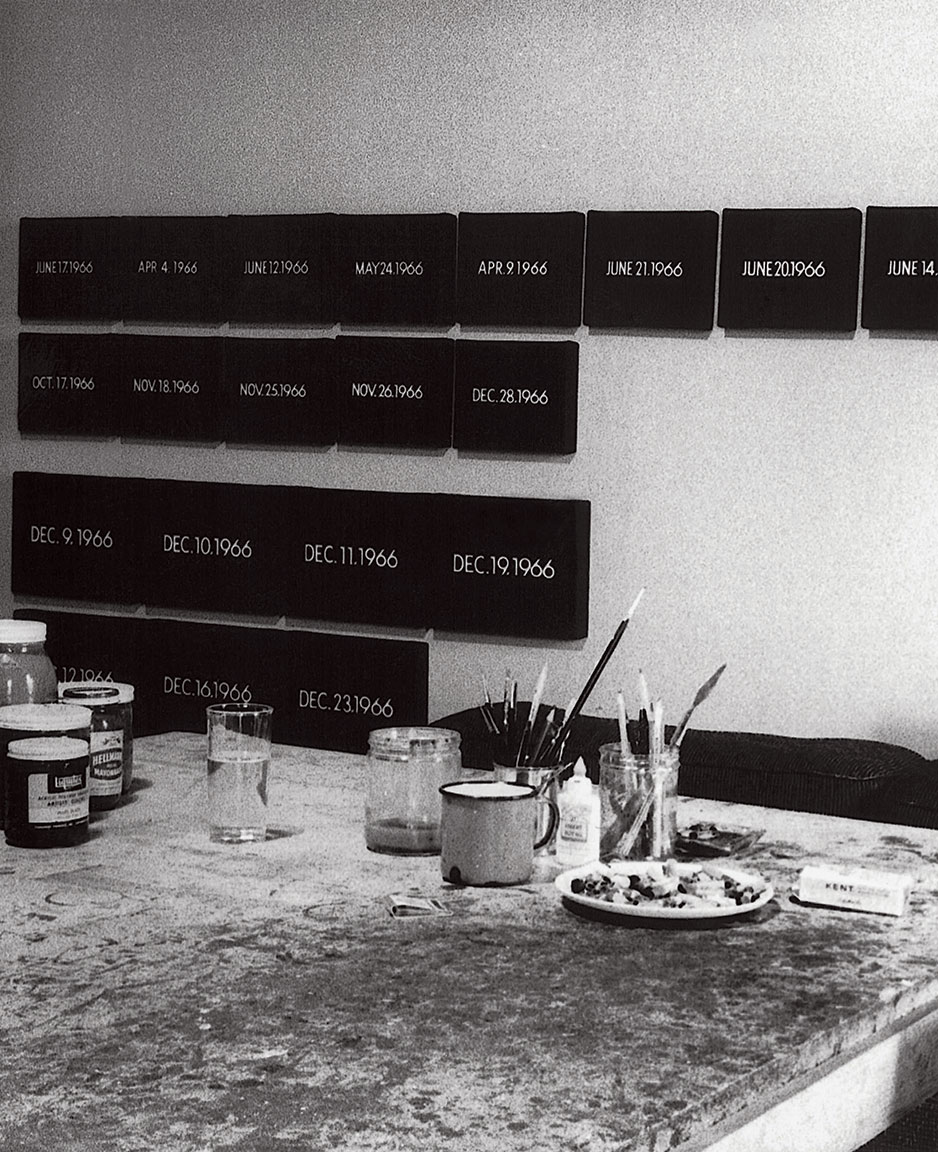 Featured image of article: On Kawara Image of the Day: March 26