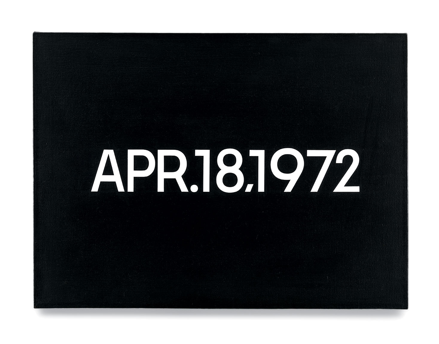 Featured image of article: On Kawara Image of the Day: April 18