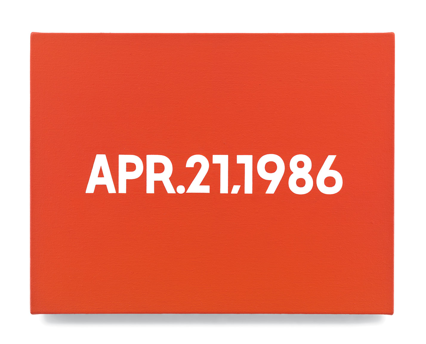 Featured image of article: On Kawara Image of the Day: February 17