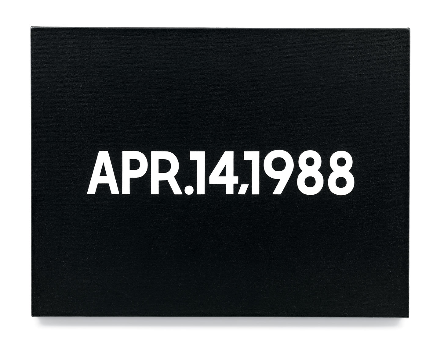 Featured image of article: On Kawara Image of the Day: April 14