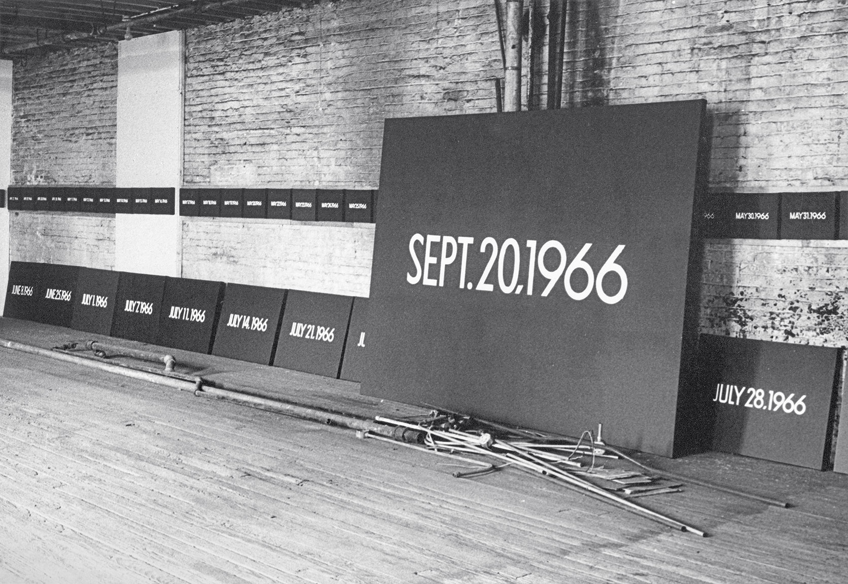 Featured image of article: On Kawara Image of the Day: February 10