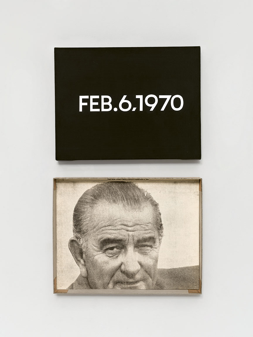 Featured image of article: On Kawara Image of the Day: February 6
