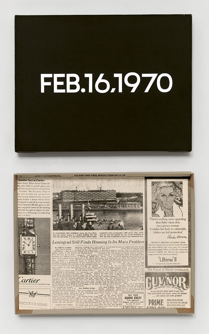 Featured image of article: On Kawara Image of the Day: February 16