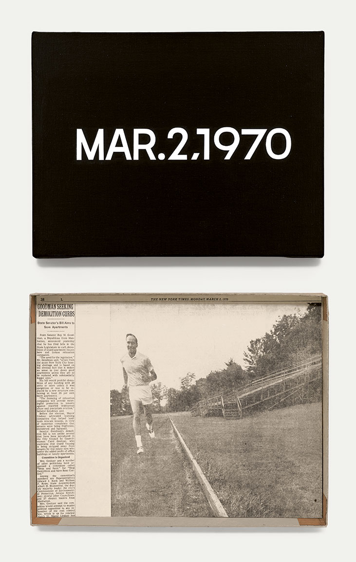 Featured image of article: On Kawara Image of the Day: March 2