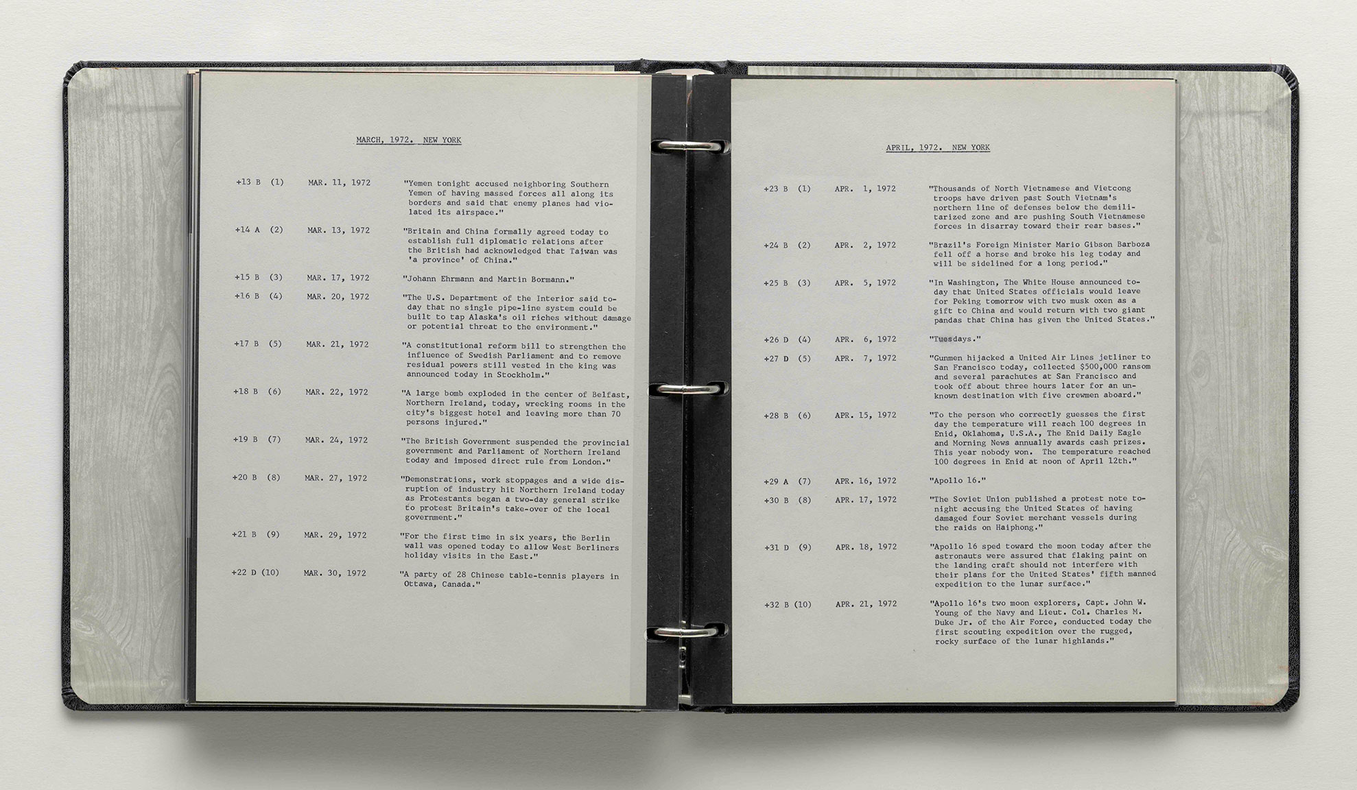 Featured image of article: On Kawara Image of the Day: February 26