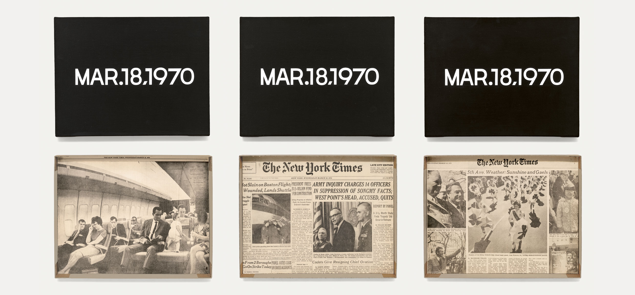 Featured image of article: On Kawara Image of the Day: March 18