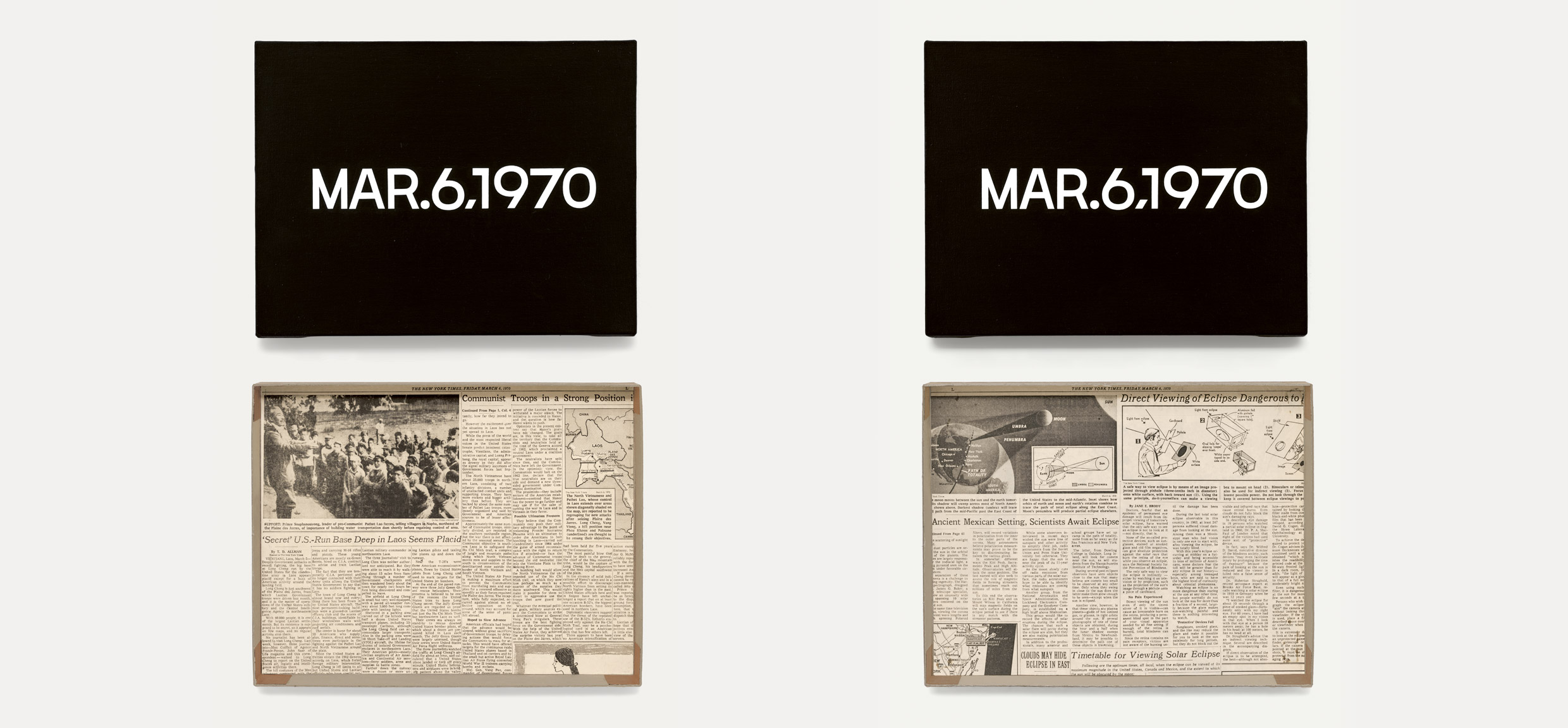 Featured image of article: On Kawara Image of the Day: March 6