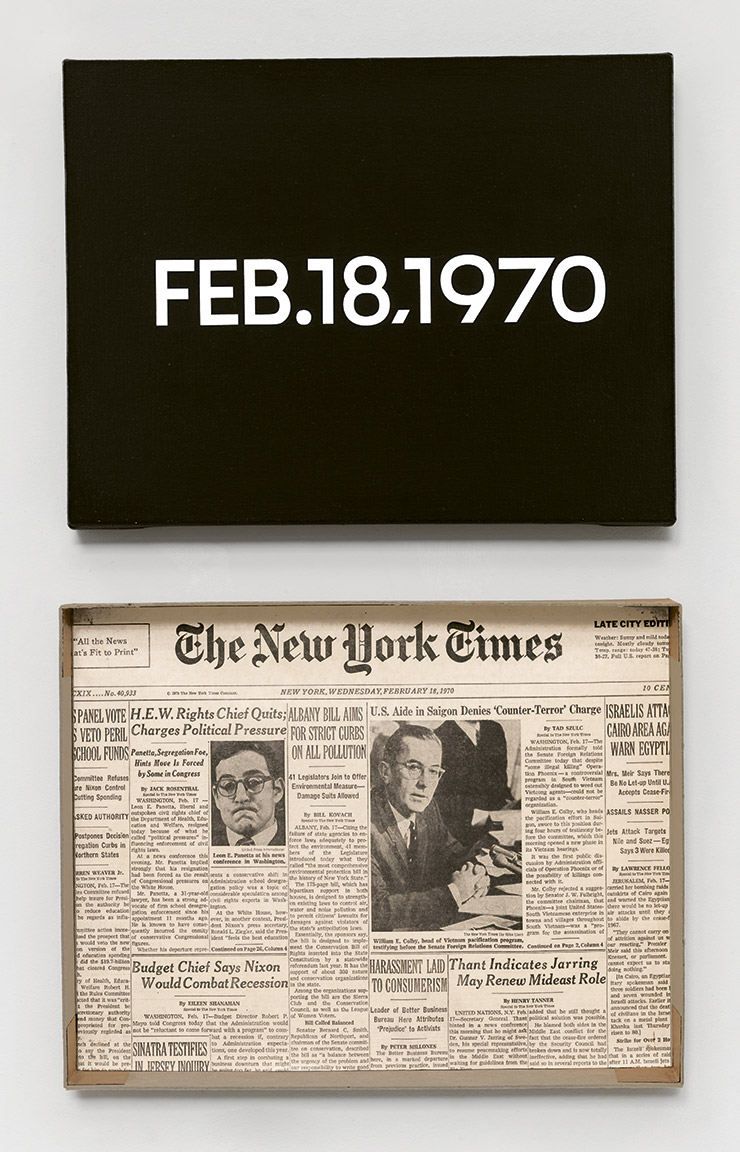 Featured image of article: On Kawara Image of the Day: February 18