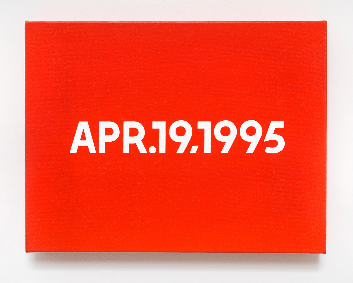 Featured image of article: On Kawara Image of the Day: April 19